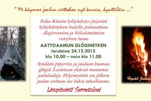 Jouluaaton glögihetki 24.12.2015